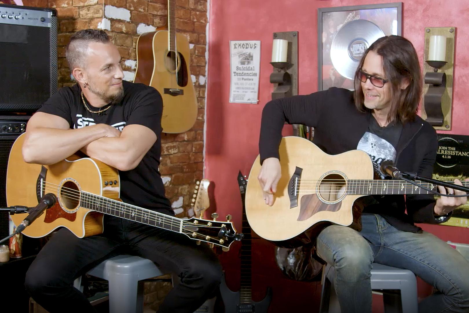 Alter Bridge's Mark Tremonti + Myles Kennedy Play Their Favorite Riffs
