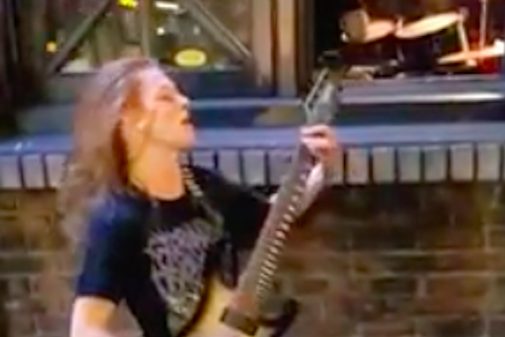 Guitarist Too Young to Play in Venue, Still Shreds on Street Corner