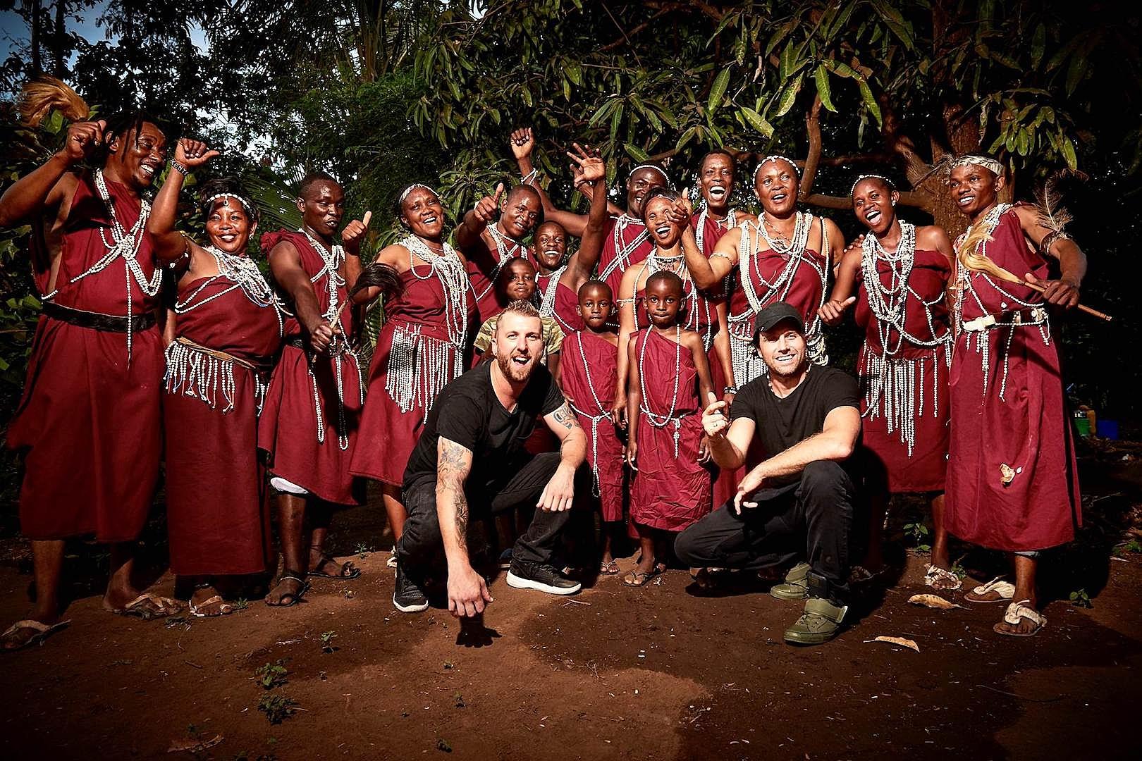 Three Days Grace Chronicle Kenya Visit for World Humanitarian Day