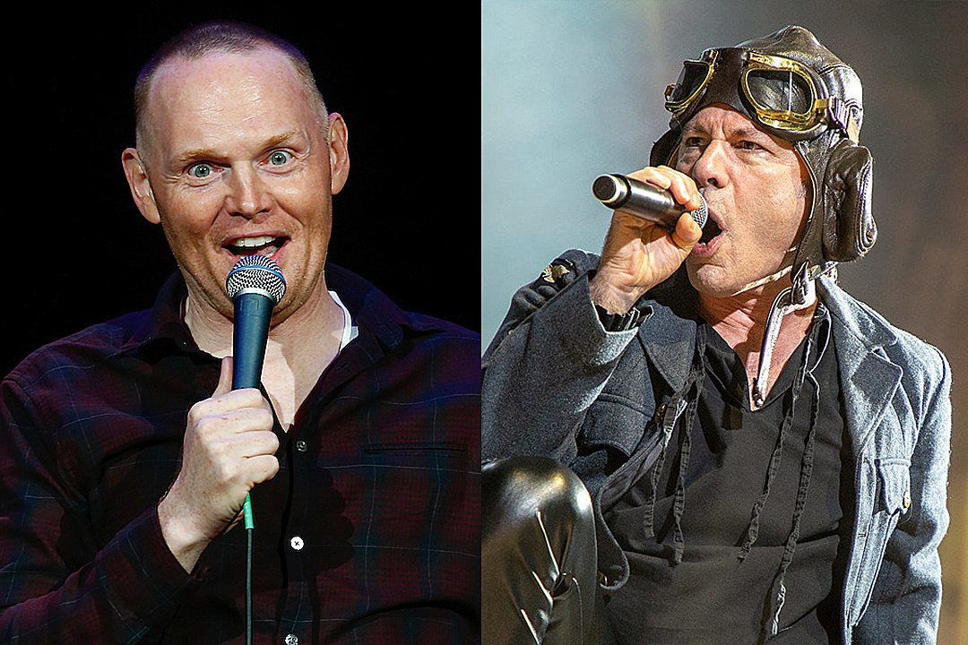 Bill Burr Freaks Out After Seeing Iron Maiden Live: 'They F–king Blew Me Away'
