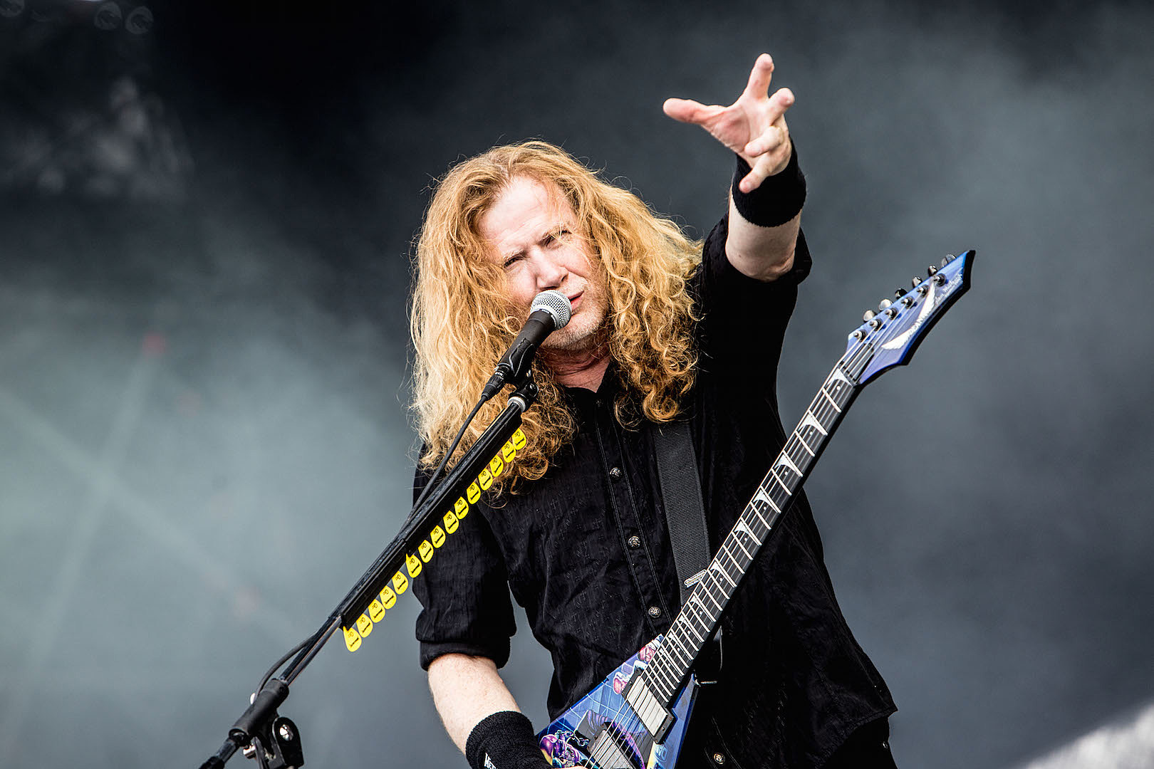 Dave Mustaine: Doctors 'Very Positive' Through Last Cancer Treatment Round