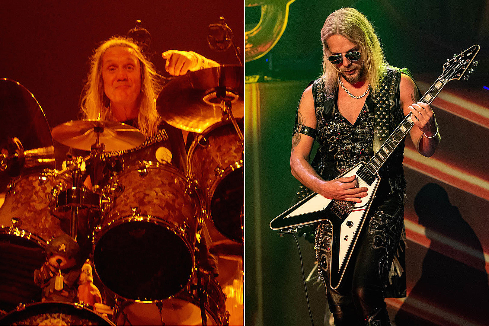 Iron Maiden + Judas Priest Members Play With Tributes to Their Own Bands