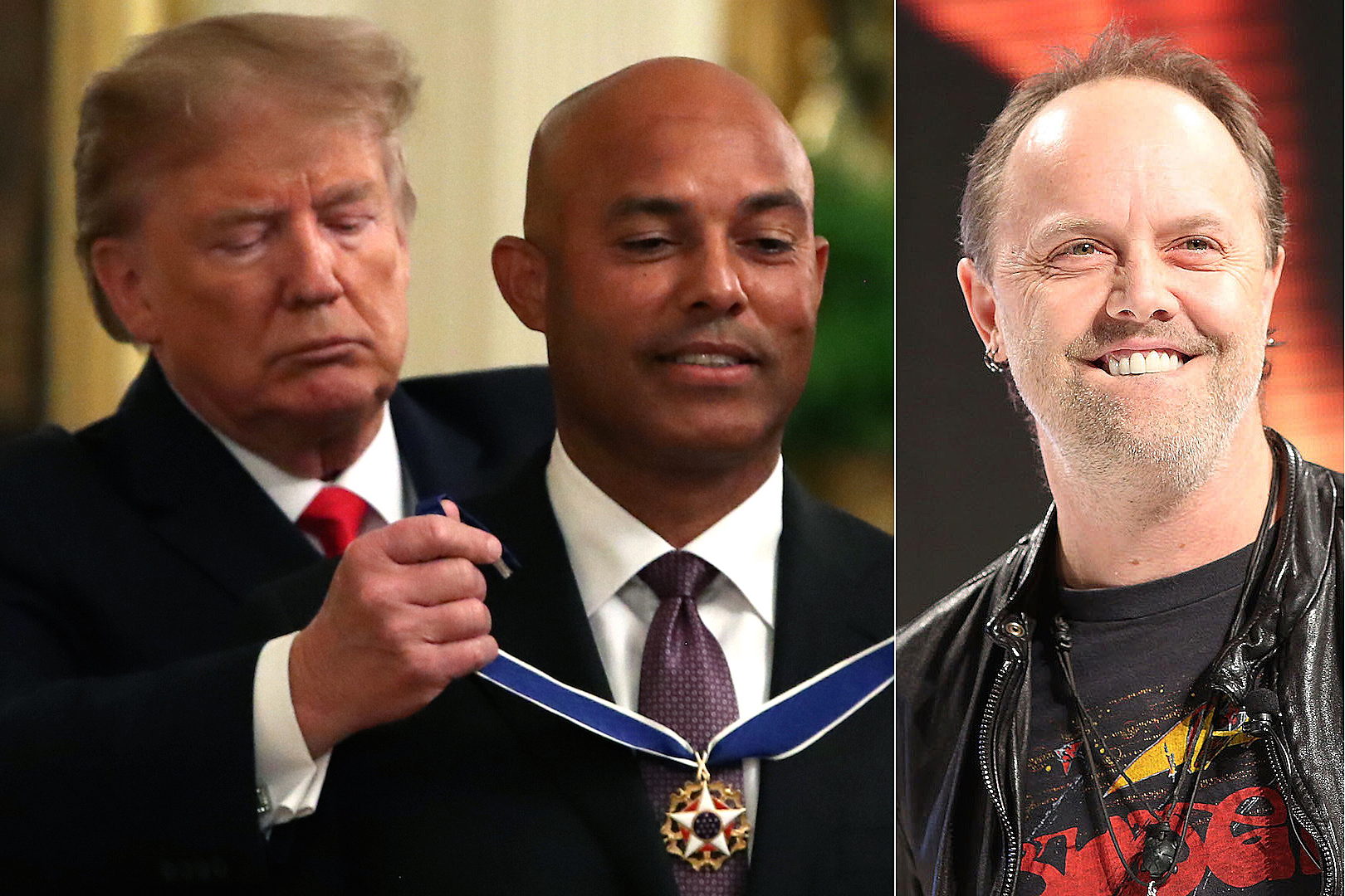 Donald Trump Walks Out to Metallica 'Enter Sandman' at White House Event