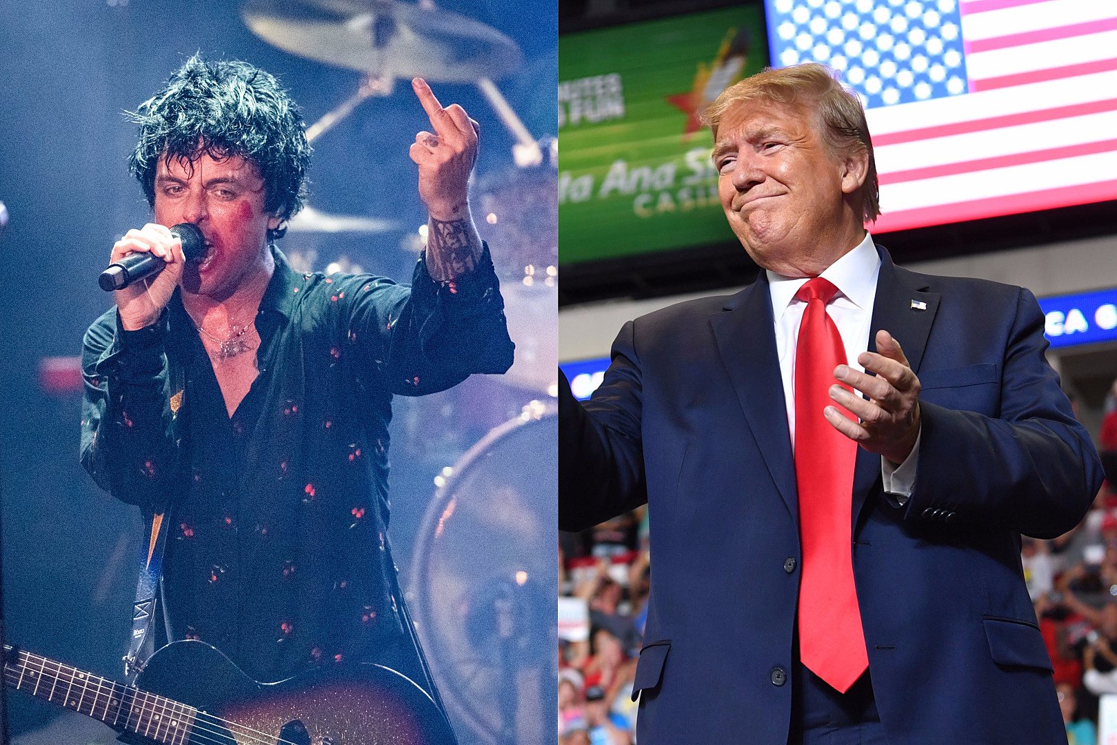 Green Day's Billie Joe Armstrong Draws No Inspiration From President Trump on New Album