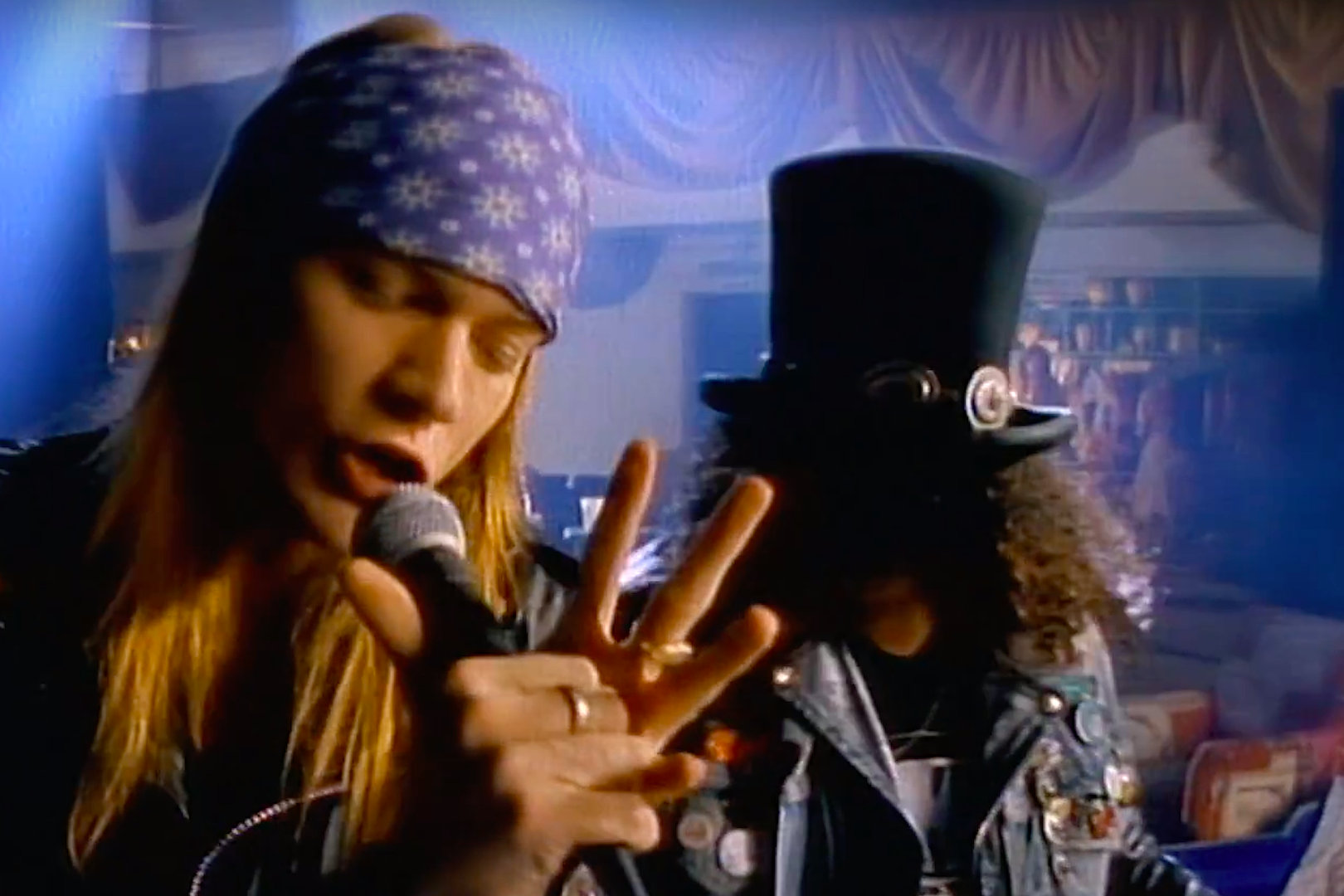 Guns N' Roses 'Sweet Child O' Mine' Is First '80s Video to Reach A Billion Views