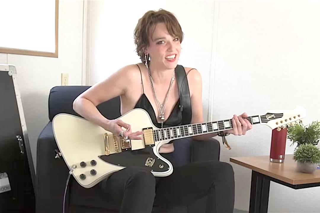 Halestorm's Lzzy Hale Plays Her Favorite Metal Riffs