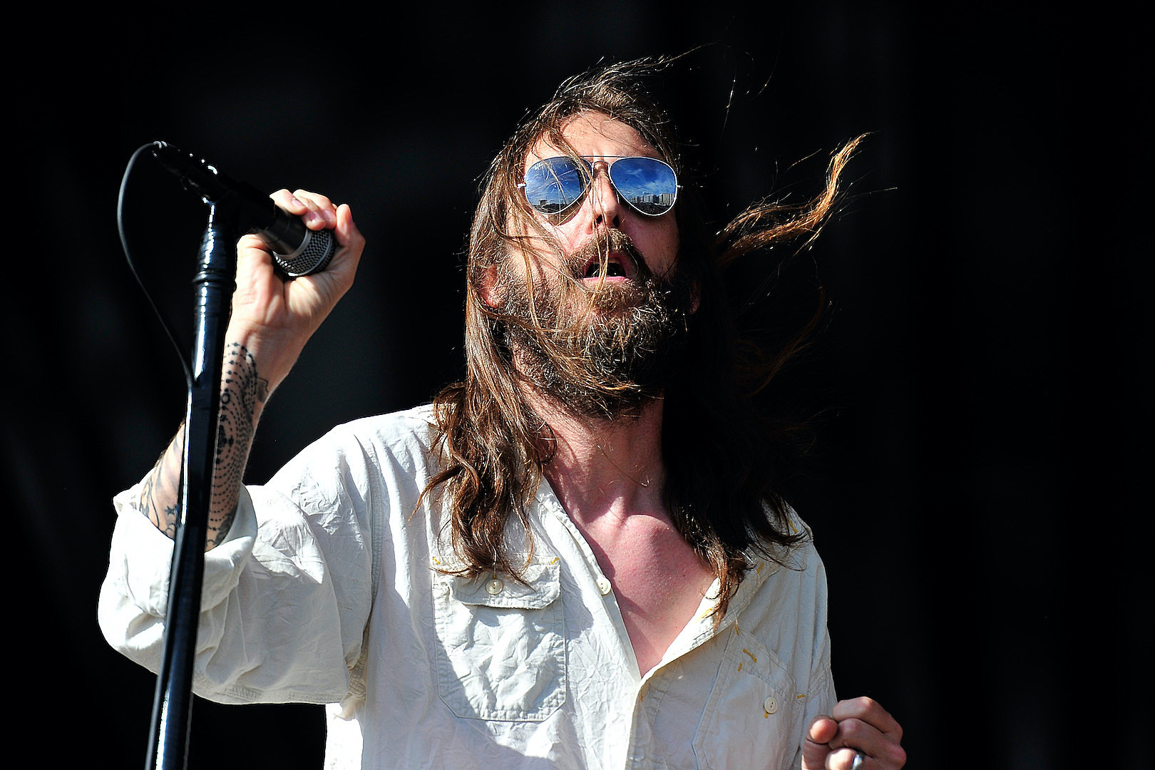 Black Crowes Singer Explains New Lineup, First Reunion Show Footage Surfaces