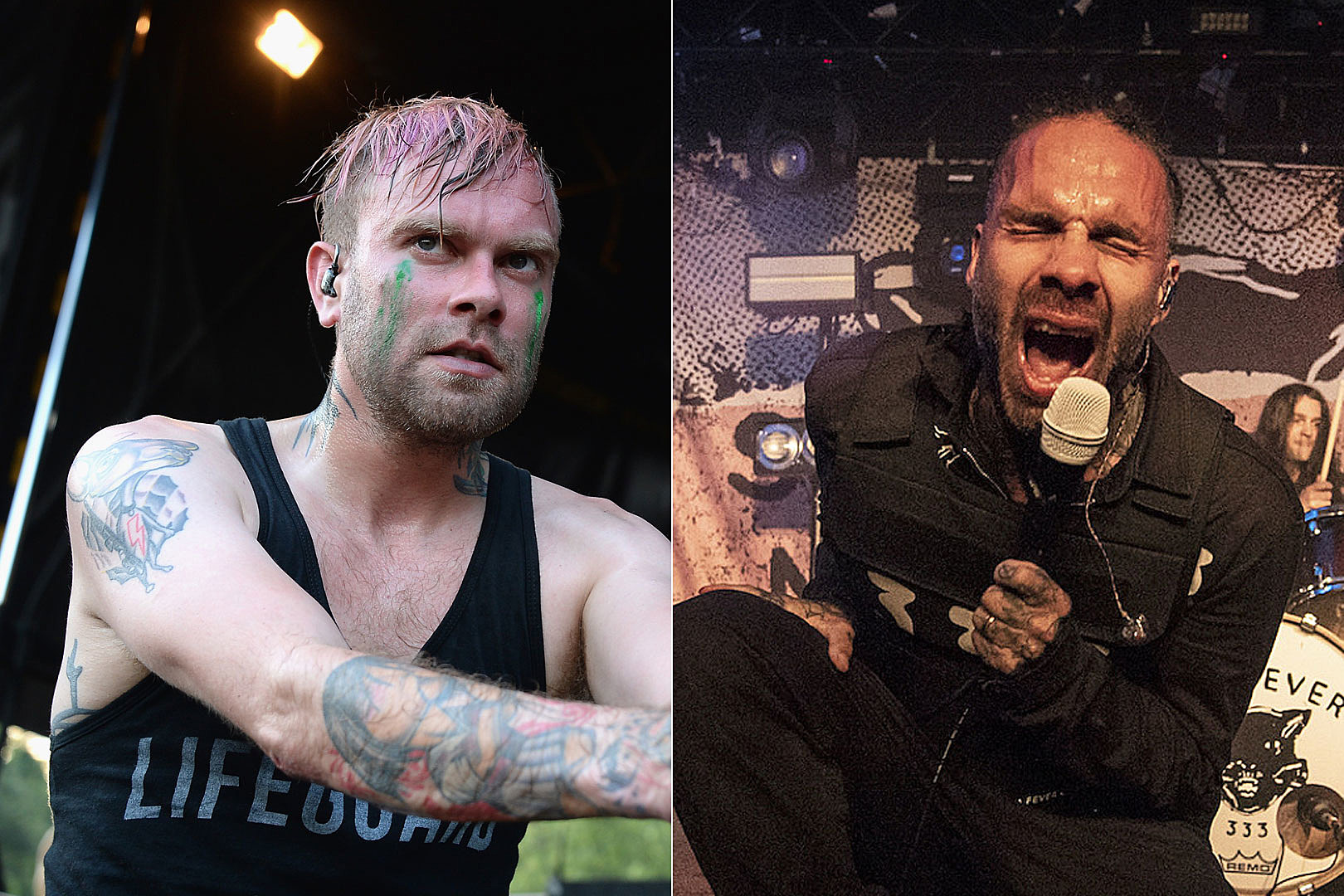 The Used Snag Fever 333's Jason Aalon Butler for New Song 'Blow Me'
