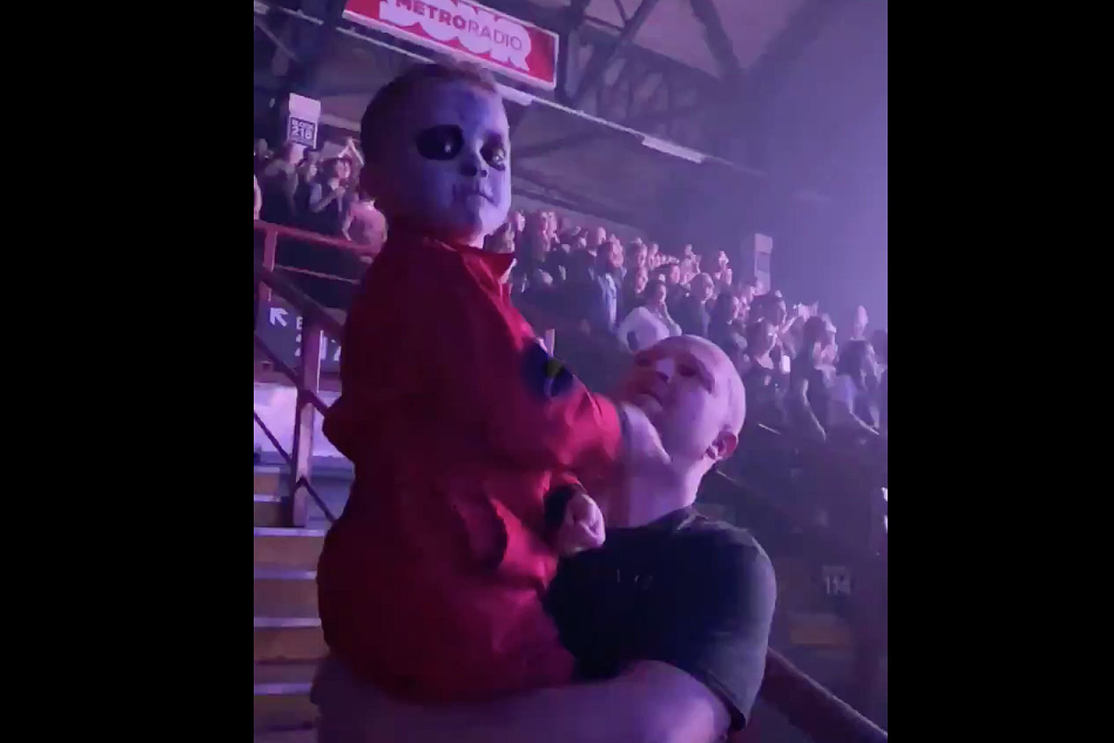 Slipknot's Jay Weinberg Shouts Out 5-Year-Old Fan's Air Drumming Skills