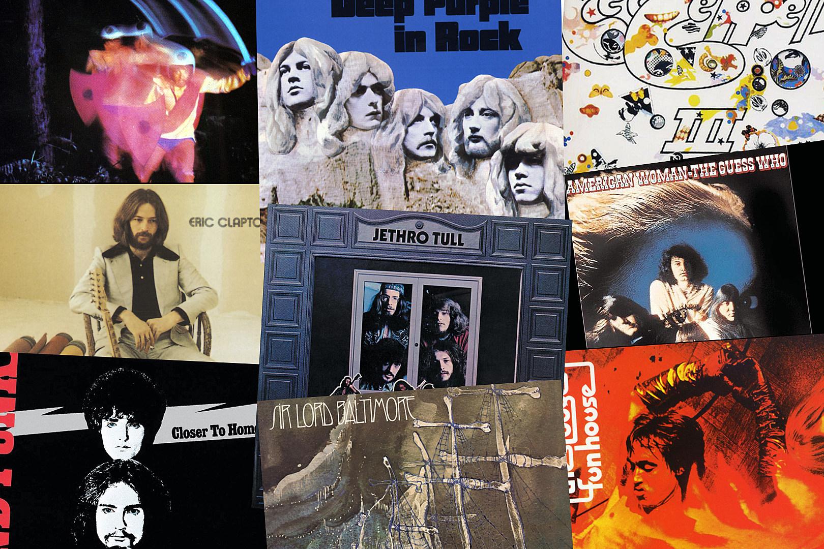20 Hard Rock + Metal Albums Turning 50 This Year