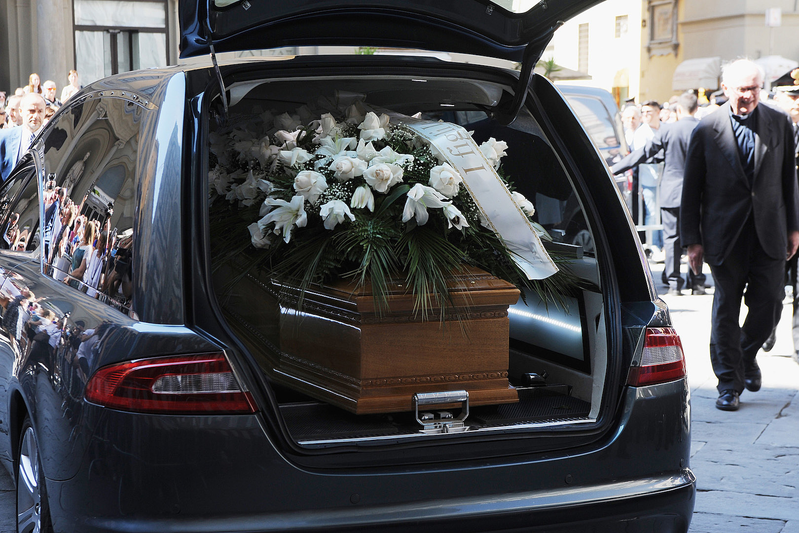 Some A–hole Stole a Hearse With a Corpse Still Inside of It