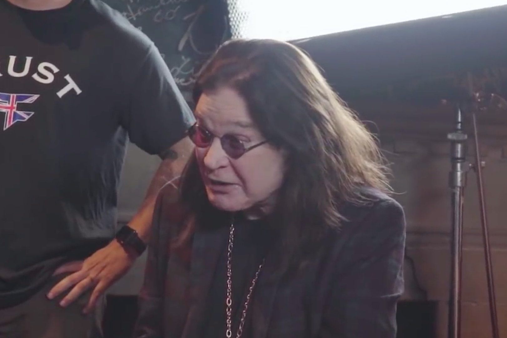 Watch Ozzy Osbourne Guess the Animals in 'What's in the Box?'
