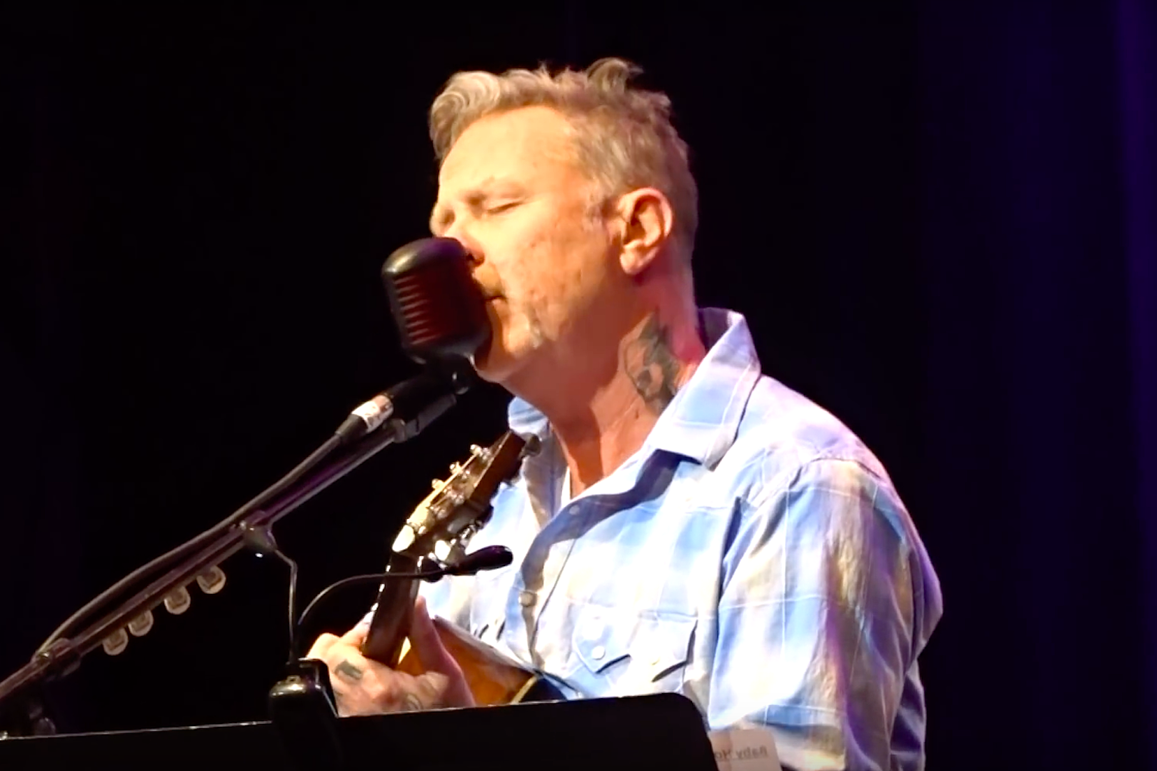 Watch James Hetfield's First Live Performance Post-Rehab