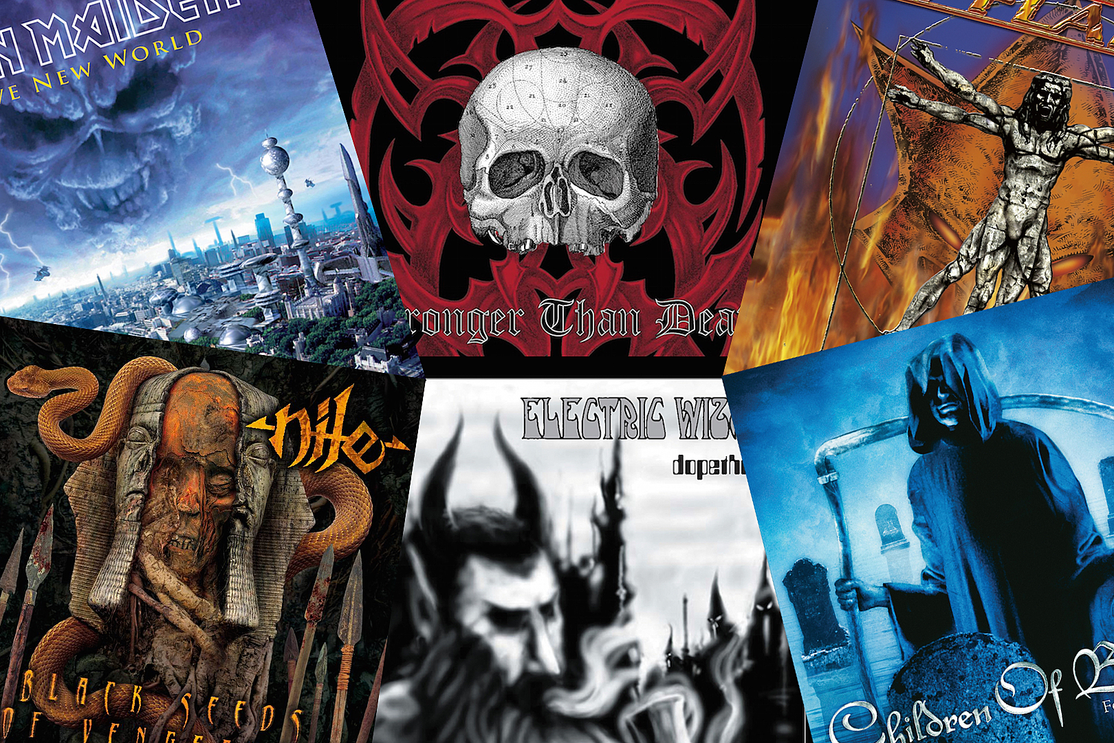 25 Best Metal Albums of 2000
