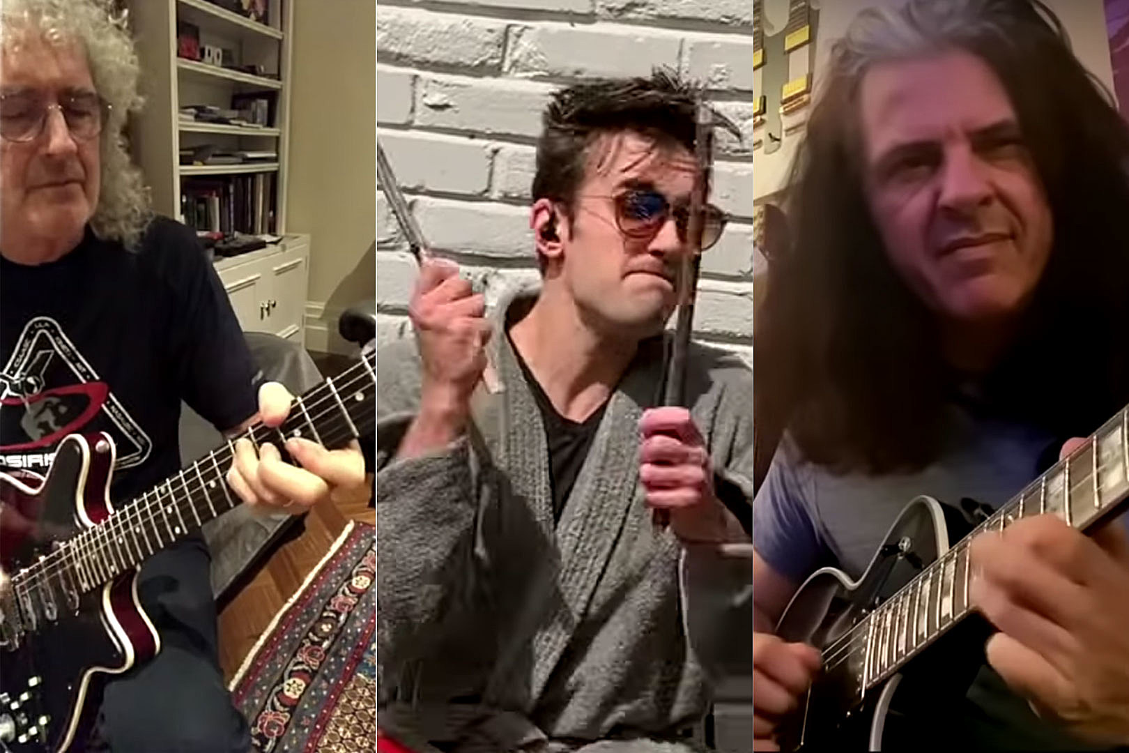 Alex Skolnick, Arejay Hale + More Join Brian May's All-Star Queen 'Hammer to Fall' Challenge