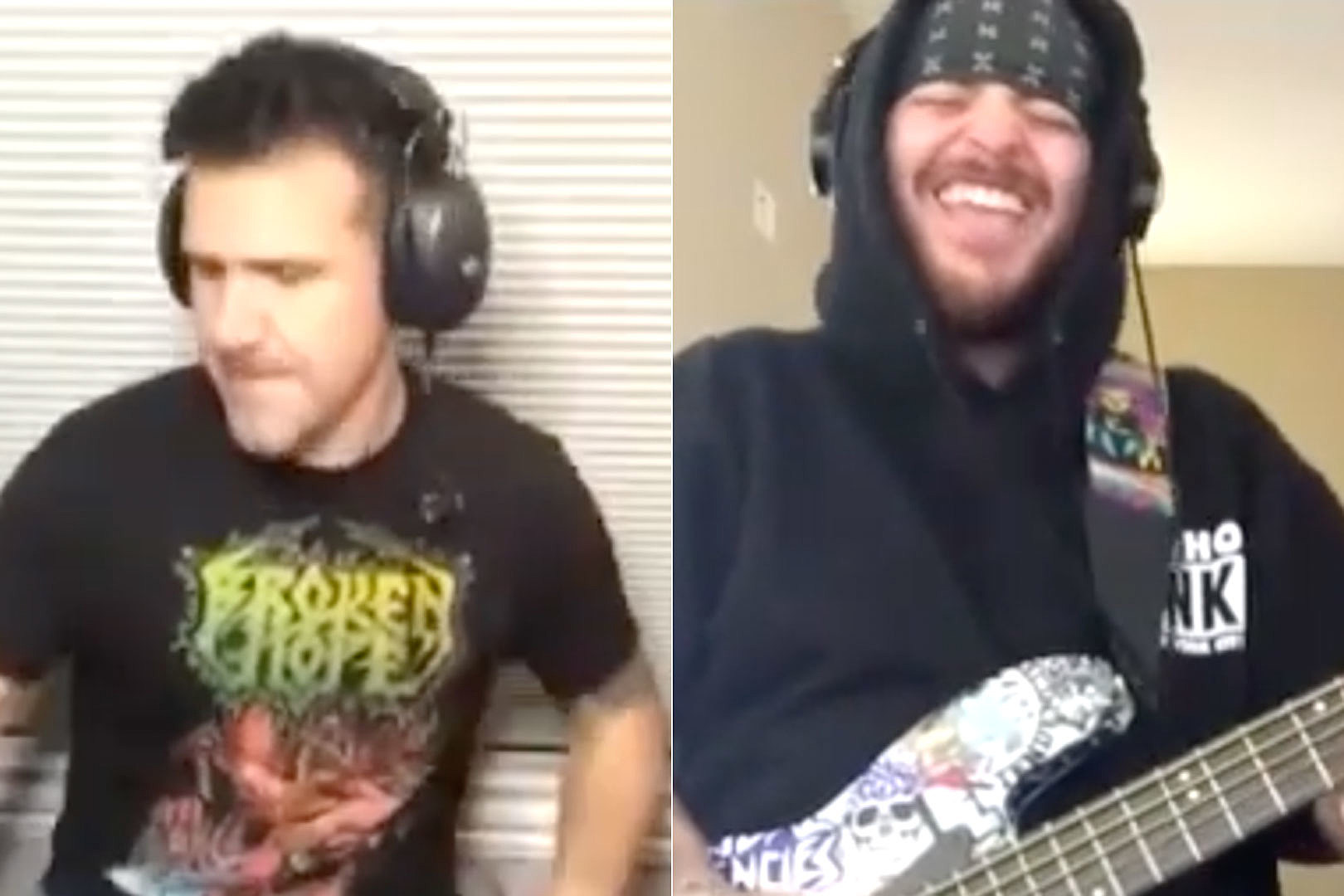 Anthrax + Suicidal Tendencies Members Ditch the Samples, Rock Chemical Brothers' 'Block Rockin' Beats'